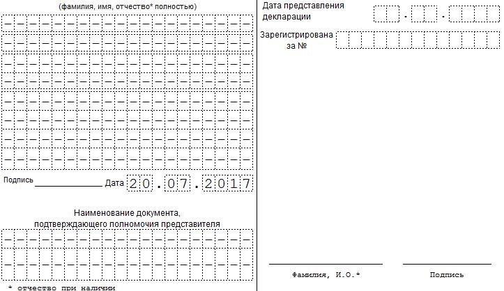 Декларация по налогу на прибыль за 2013 год с примером заполнения