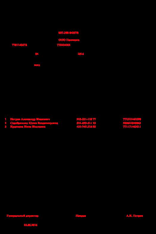 ежемесячный отчет в пфр с 2016 года форма сзв-м образец заполнения - фото 5