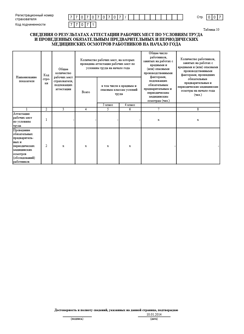 бухгалтерских отчетов фсс бланк 2013