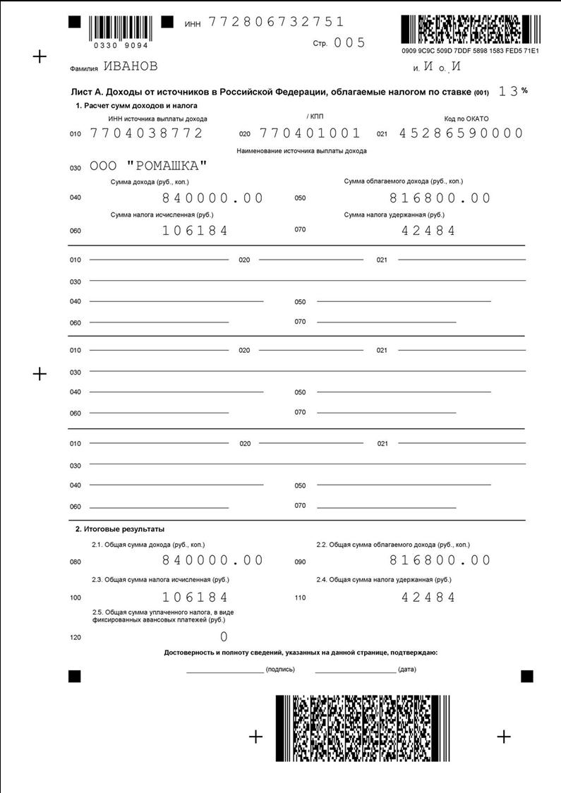 Порядок и особенности заполнения декларации 3-НДФЛ пенсионером на вычет за покупку квартиры