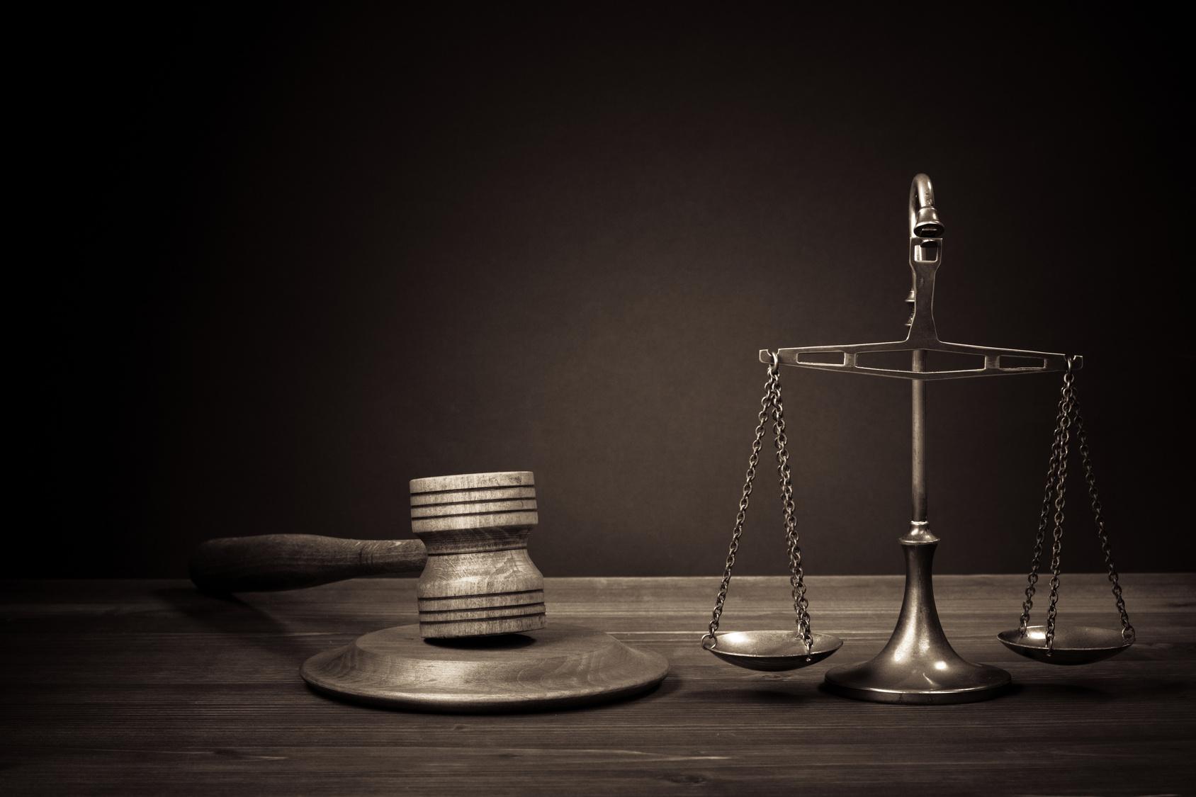 Картинка с весами суда