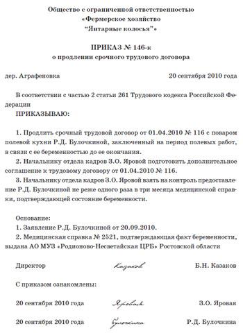 приказ об увольнении директора образец рб - фото 7