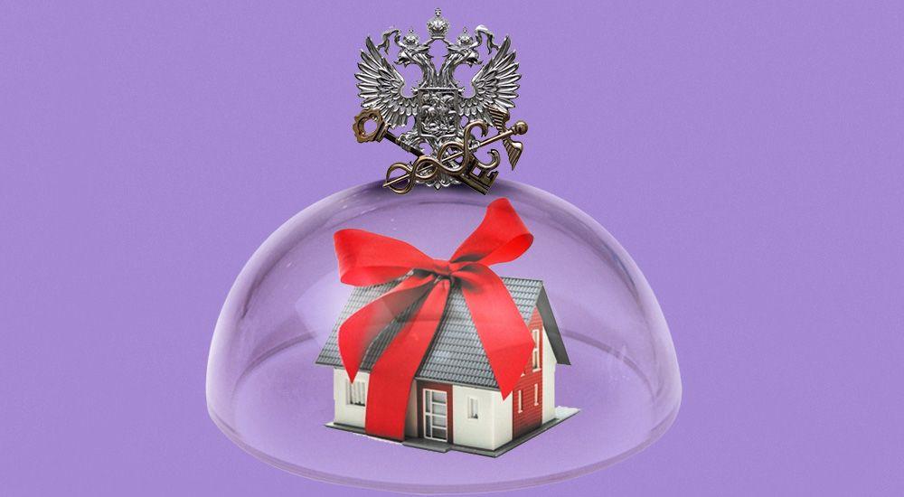 Может ли человек из-за границы сделать дарственную на долю квартиры?