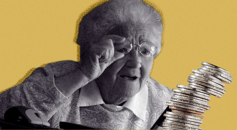 Почему в 2020 году многим повысили пенсию только на 1 рубль: разъяснение с примером расчета