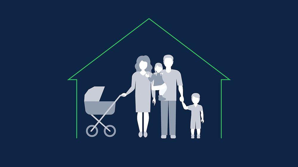 Многодетным семьям помогут с оплатой ипотеки
